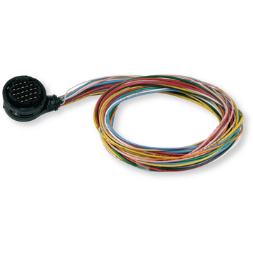 Connector-kit rond 23-polig + kabel